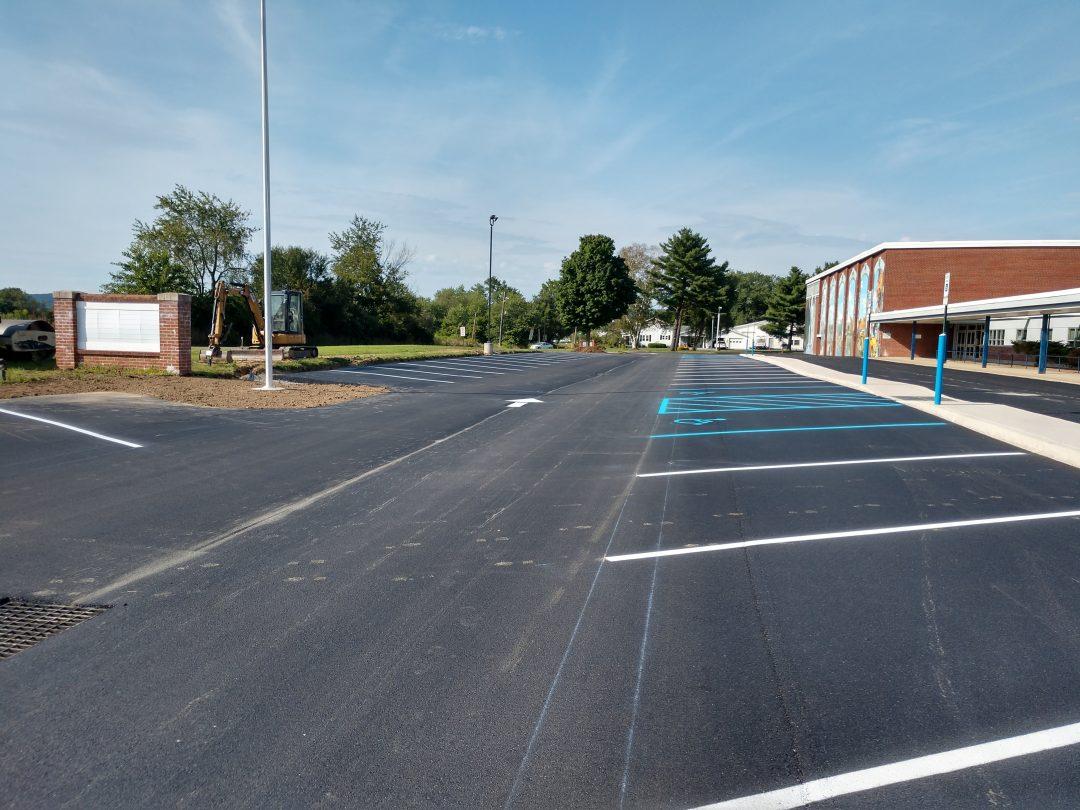 Warrior Run Parking Expansion