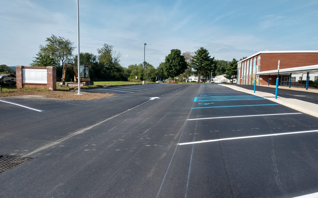 Warrior Run Parking Expansion